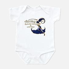 Fun Anime Fan Design Infant Bodysuit