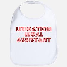 Retro Litigation .. (Red) Bib