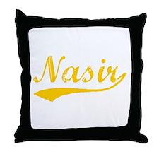 Vintage Nasir (Orange) Throw Pillow
