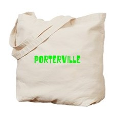 Porterville Faded (Green) Tote Bag