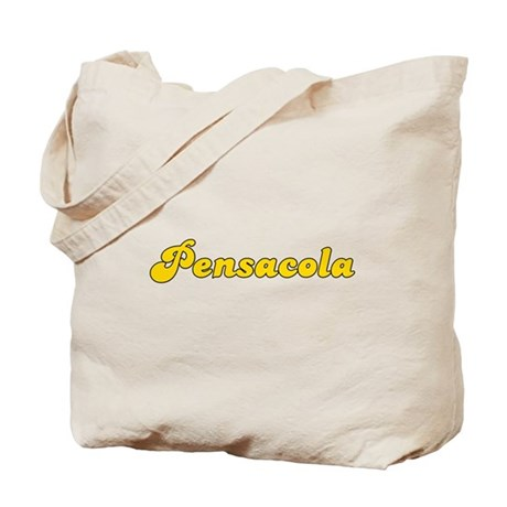 Retro Pensacola (Gold) Tote Bag