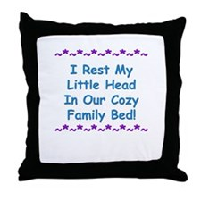 Co-Sleeping Advocacy Throw Pillow