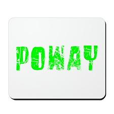 Poway Faded (Green) Mousepad