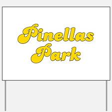 Retro Pinellas Park (Gold) Yard Sign