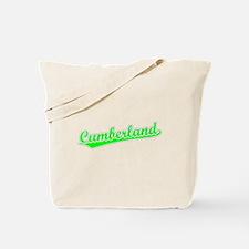 Retro Cumberland (Green) Tote Bag