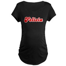 Retro Felicia (Red) T-Shirt