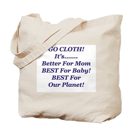 Cloth Diapering Advocacy Tote Bag