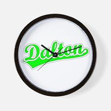 Retro Dalton (Green) Wall Clock