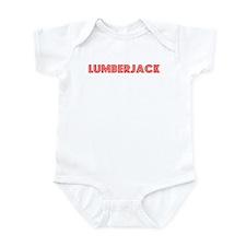 Retro Lumberjack (Red) Infant Bodysuit