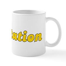 Retro Plantation (Gold) Mug