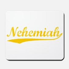 Vintage Nehemiah (Orange) Mousepad