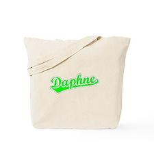 Retro Daphne (Green) Tote Bag