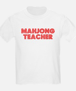 Retro Mahjong Tea.. (Red) T-Shirt