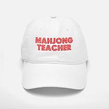 Retro Mahjong Tea.. (Red) Cap