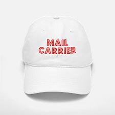 Retro Mail carrier (Red) Baseball Baseball Cap