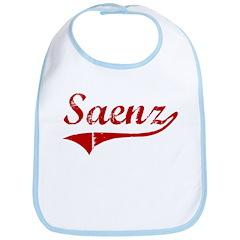 Saenz (red vintage) Bib