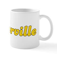 Retro Porterville (Gold) Mug