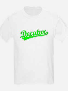 Retro Decatur (Green) T-Shirt