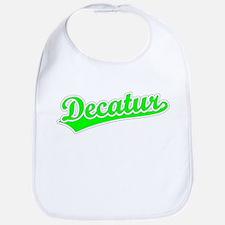 Retro Decatur (Green) Bib