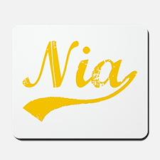 Vintage Nia (Orange) Mousepad