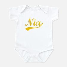Vintage Nia (Orange) Infant Bodysuit