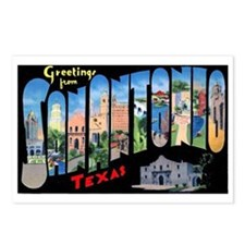 San Antonio Texas Greetings Postcards (Package of