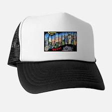 San Antonio Texas Greetings Trucker Hat