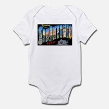 San Antonio Texas Greetings Infant Bodysuit