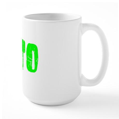 Rialto Faded (Green) Large Mug