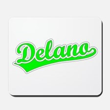 Retro Delano (Green) Mousepad