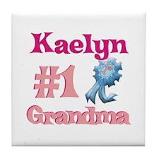 Kaelyn - #1 Grandma Tile Coaster