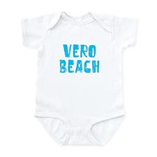 Vero Beach Faded (Blue) Infant Bodysuit