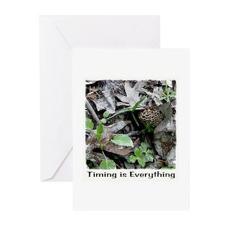 Morel Mushroom Greeting Cards (Pk of 10)