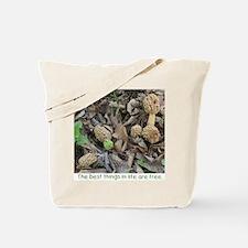 Morel Mushroom Tote Bag