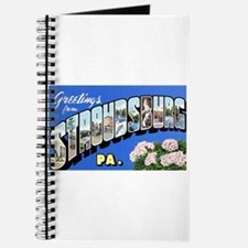Stroudsburg Pennsylvania Greetings Journal