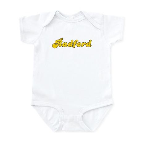 Retro Radford (Gold) Infant Bodysuit