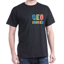 Geocacher Arrows Pocket Area T-Shirt