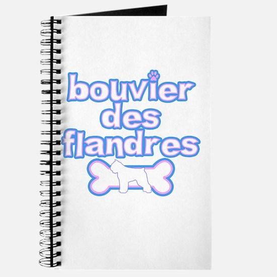 Powderpuff Bouvier des Flandres Journal