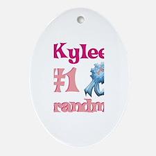 Kylee - #1 Grandma Oval Ornament