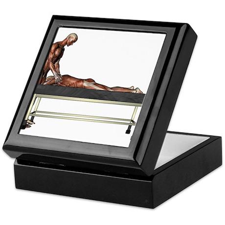 Massage Muscles Keepsake Box