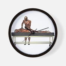 Massage Muscles Wall Clock