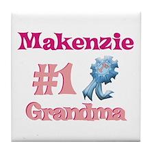 Makenzie - #1 Grandma Tile Coaster