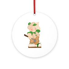 Golfers Ornament (Round)