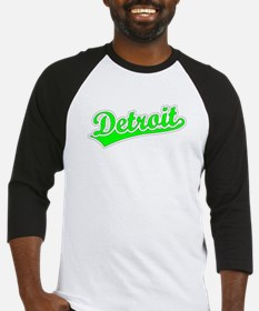 Retro Detroit (Green) Baseball Jersey