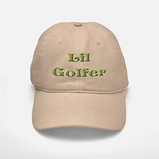 Little Golfer Baseball Baseball Cap