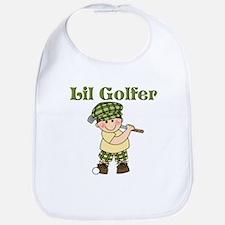 Little Golfer Bib