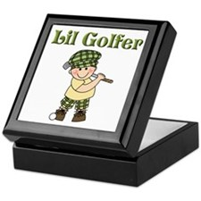 Little Golfer Keepsake Box