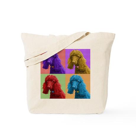 Pop Poodle Tote Bag