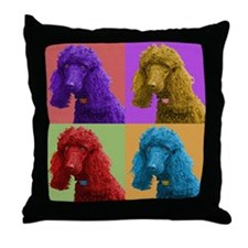 Pop Poodle Throw Pillow