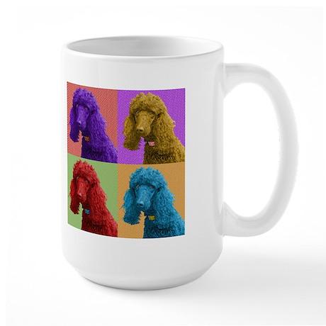 Pop Poodle Large Mug